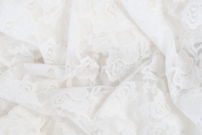婚礼鞋带背景 免版税库存图片