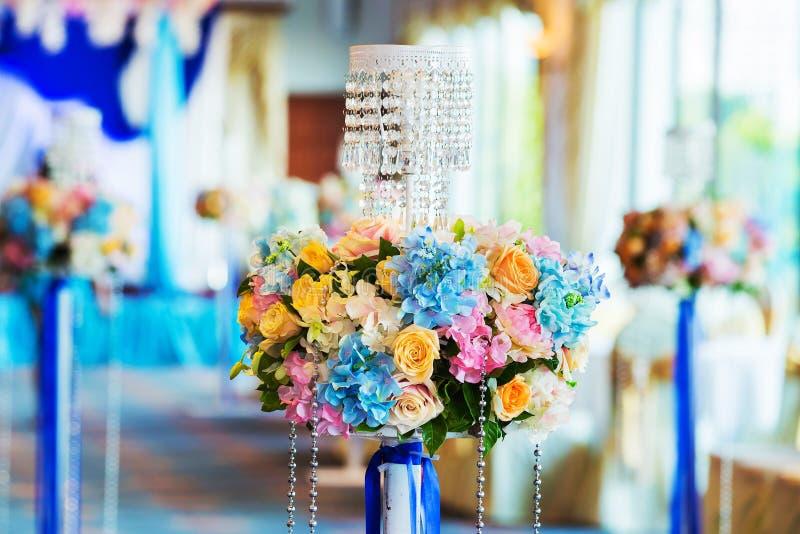 婚礼,事件装饰 库存照片
