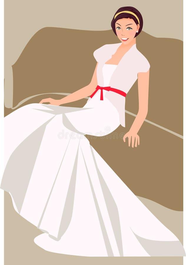 婚礼 向量例证