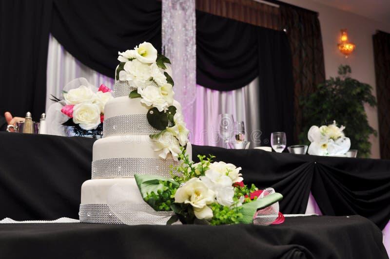 结婚宴会蛋糕 免版税图库摄影
