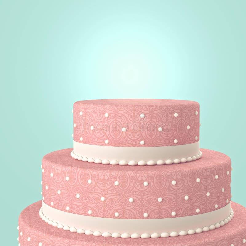 婚宴喜饼 向量例证