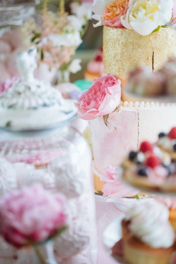 婚宴喜饼 免版税库存图片