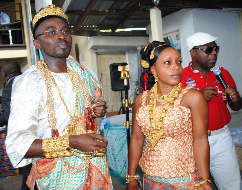 婚姻在非洲 图库摄影