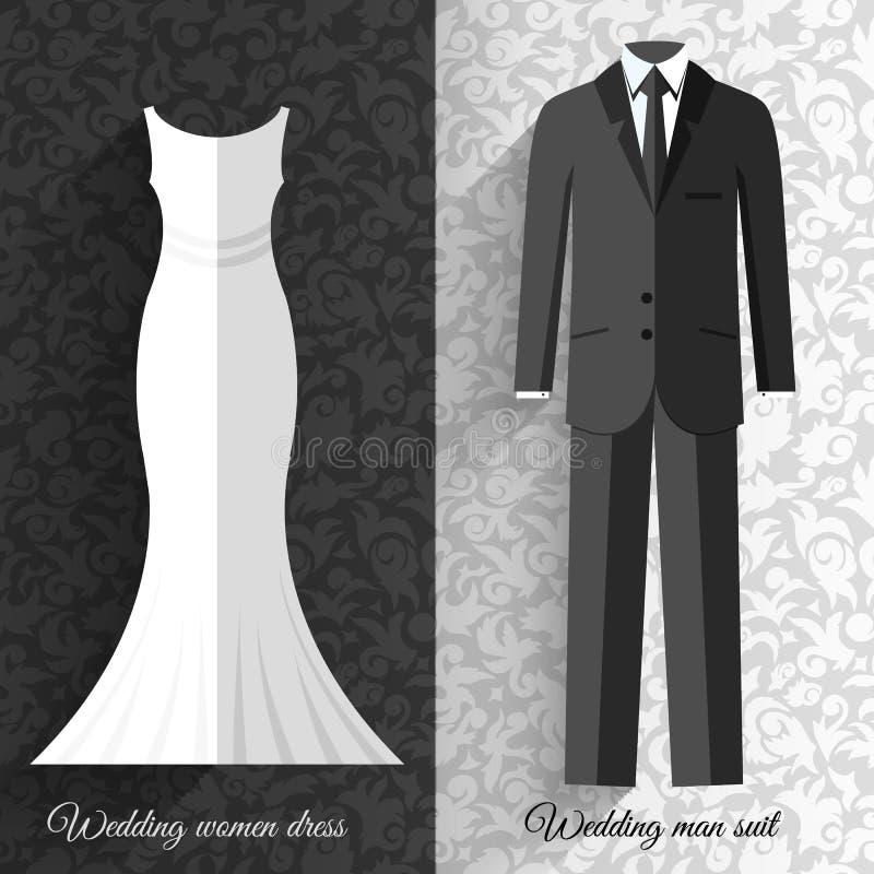 婚姻的美好的衣服衣物装饰物样式图片