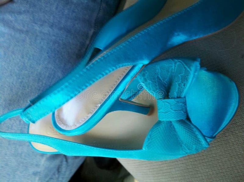 婚姻的鞋子 图库摄影