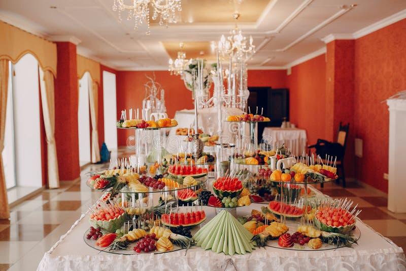 婚姻的宴会 免版税库存图片