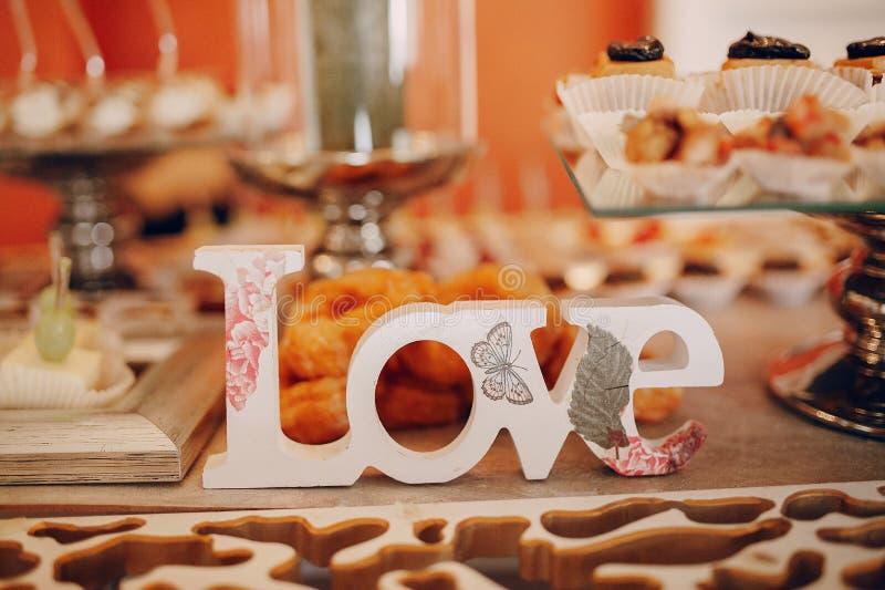 婚姻的宴会 库存图片