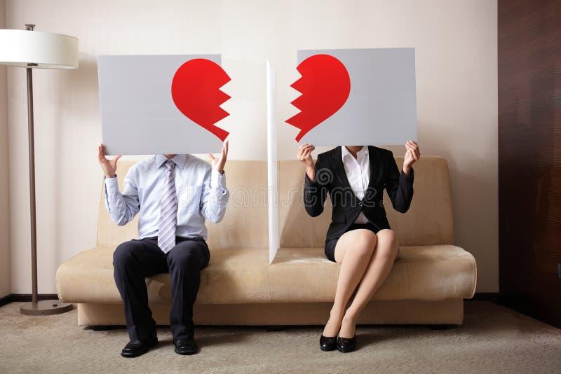 离婚 免版税图库摄影