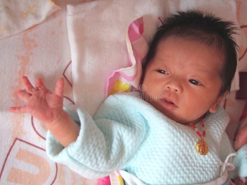 婴儿的辅助部件 图库摄影