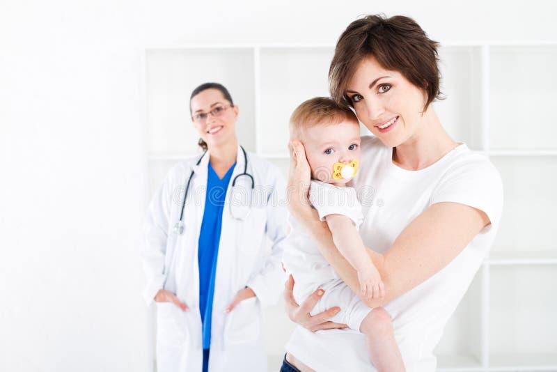 婴孩医院 免版税库存图片