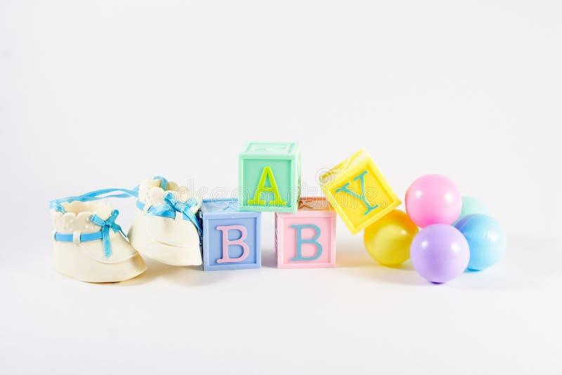 婴孩块 免版税库存照片