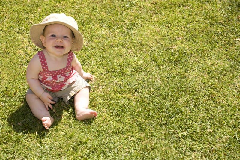 婴孩夏天 免版税库存图片