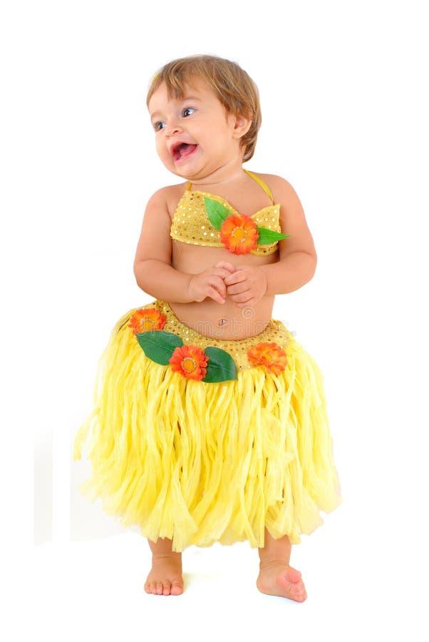 婴孩夏威夷人 库存图片