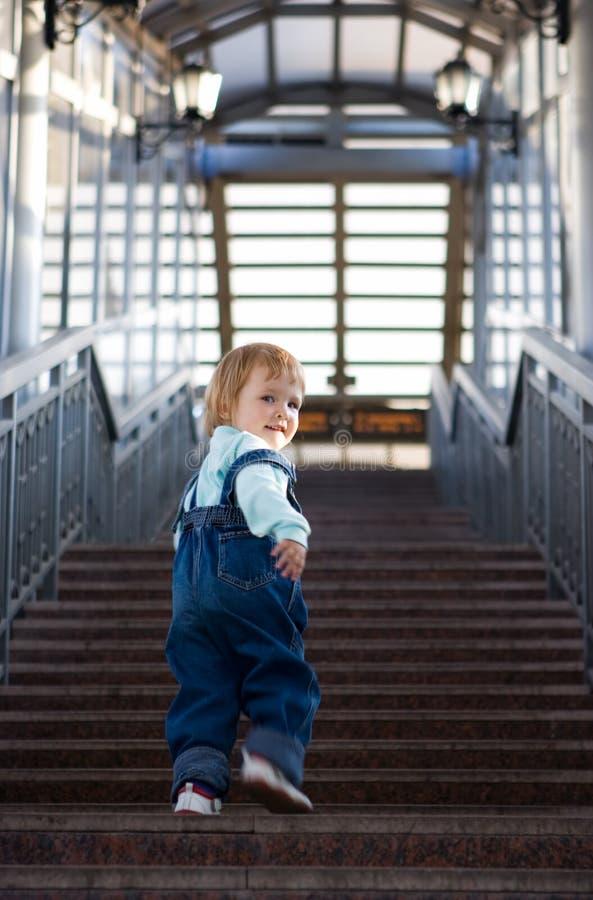 婴孩大厦商业 免版税图库摄影