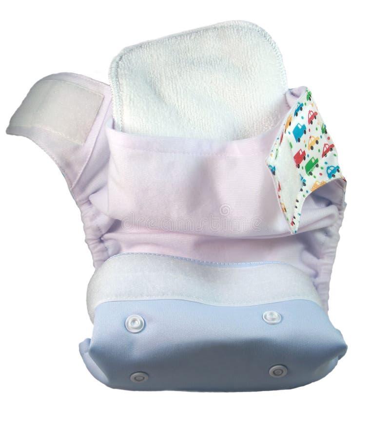 婴孩尿布 库存图片