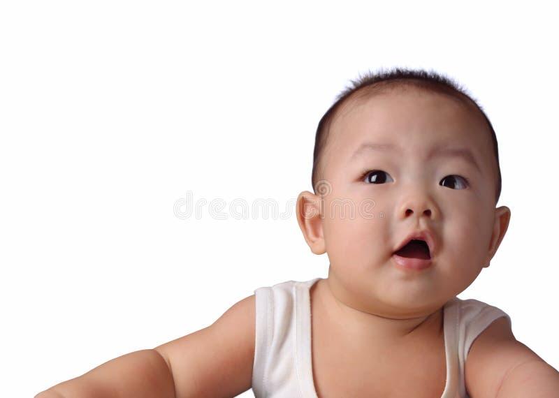 婴孩愉快查寻 免版税图库摄影