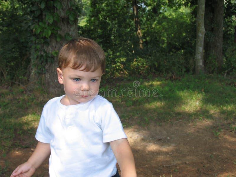 婴孩摆在 图库摄影