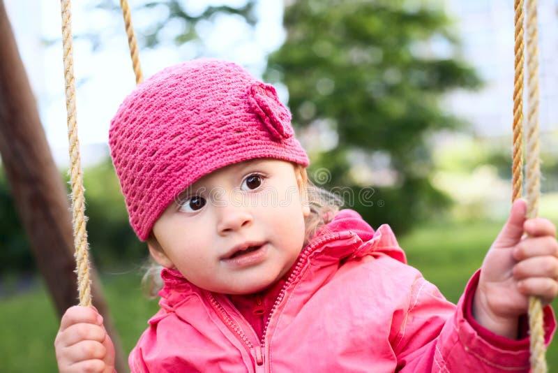 婴孩摇摆 免版税图库摄影