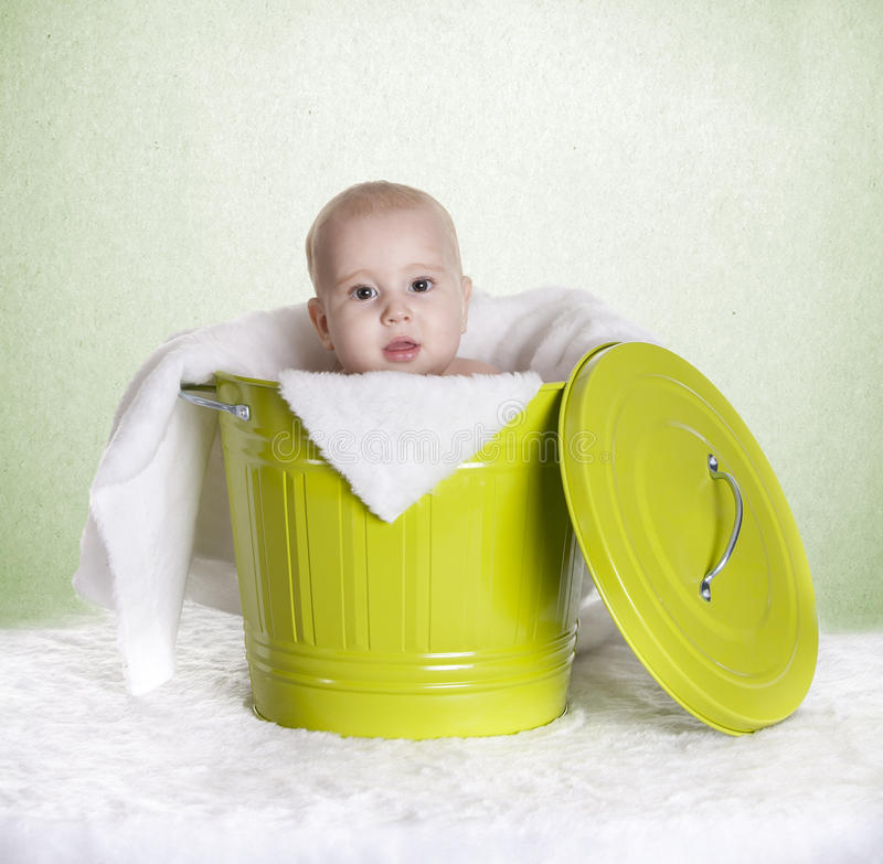 婴孩时段 免版税图库摄影