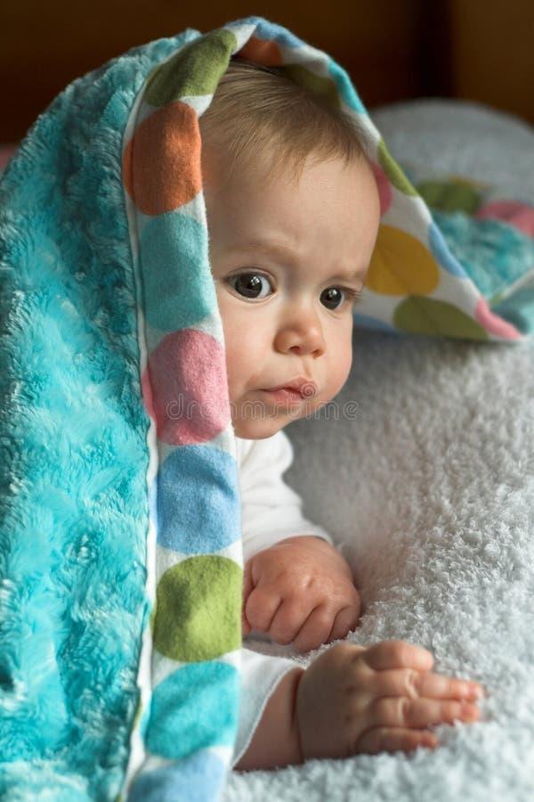 婴孩毯子 库存照片