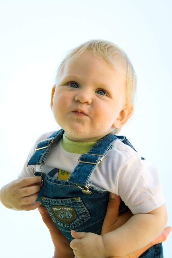 婴孩爱 图库摄影