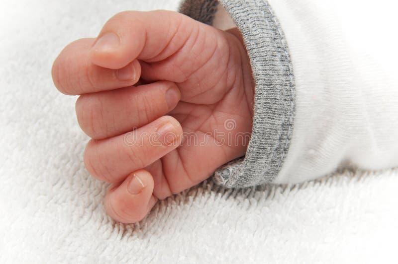 婴孩现有量 库存照片