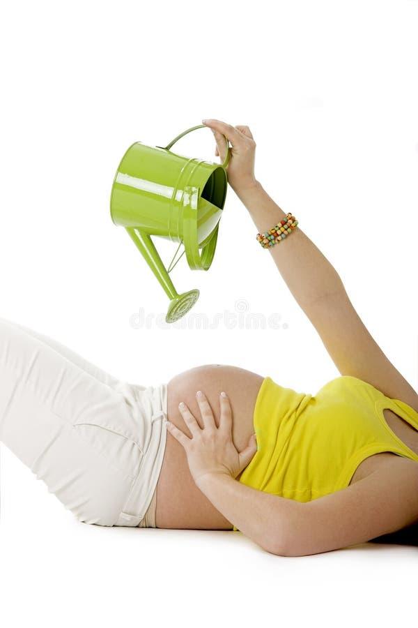 婴孩生长 免版税库存照片