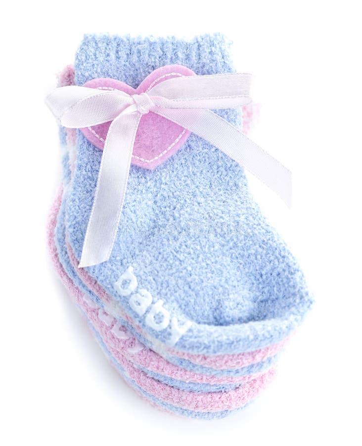 婴孩礼品袜子 库存照片