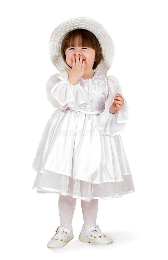 婴孩秀丽帽子 免版税图库摄影