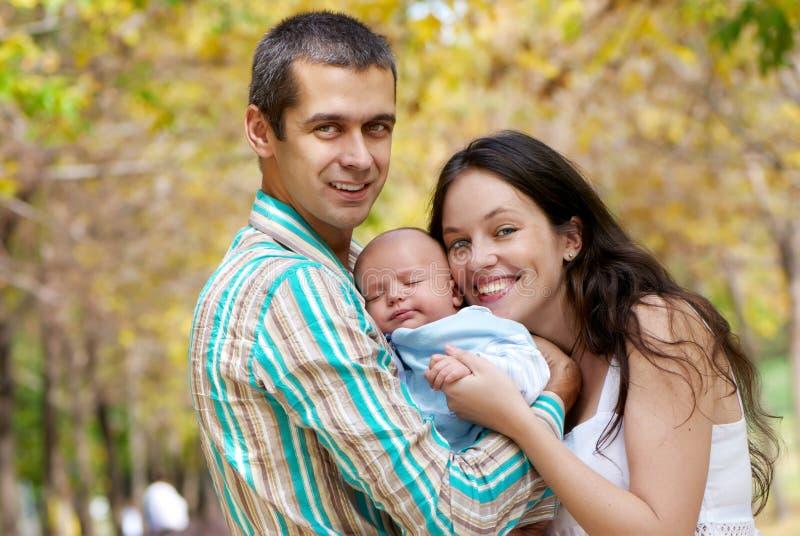 婴孩系列公园 库存照片