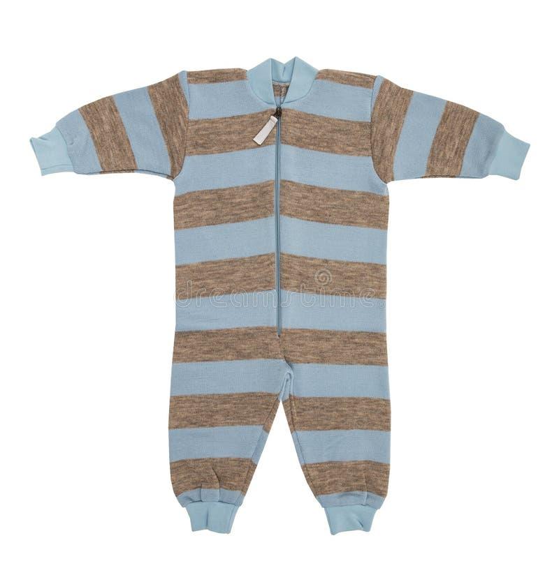 婴孩羊毛衣裳 图库摄影