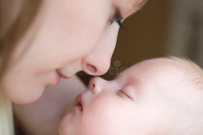 婴孩美丽的月三 免版税库存图片