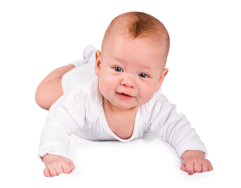婴孩美丽的男孩 图库摄影