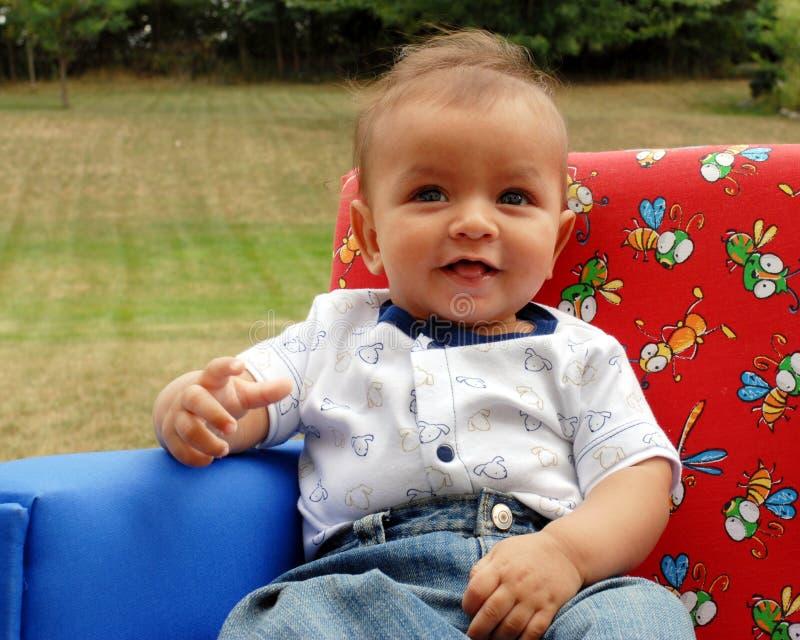 婴孩美丽的男孩 库存图片