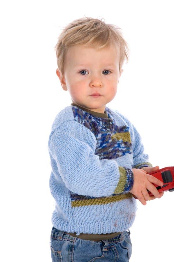 婴孩背景白色 免版税库存照片
