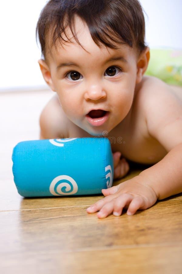 婴孩范围腹部 库存照片