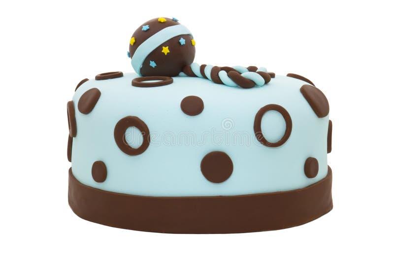 婴孩蛋糕阵雨 免版税图库摄影