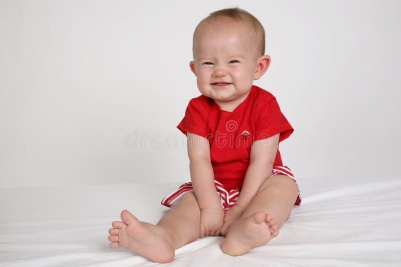 婴孩表面 图库摄影