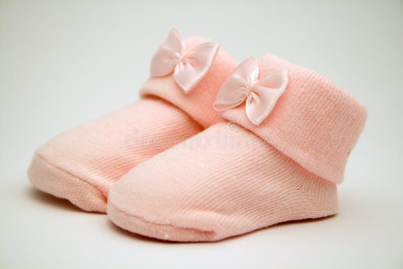 婴孩袜子 库存照片