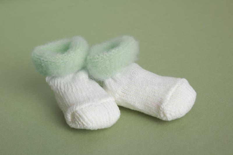 婴孩赃物绿色 库存图片