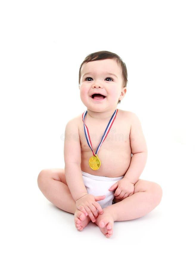 婴孩赢取 图库摄影