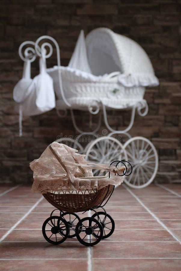 婴孩车 图库摄影