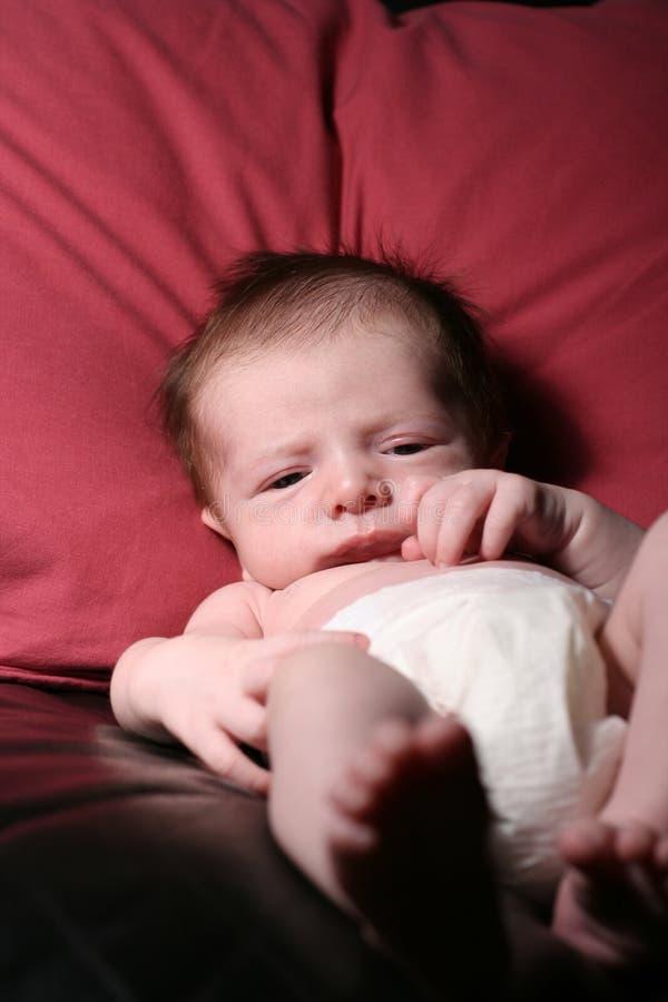 婴孩长沙发 库存图片