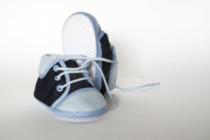 婴孩鞋类 库存图片