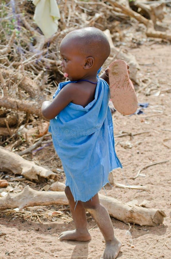 婴孩马塞语 免版税库存照片