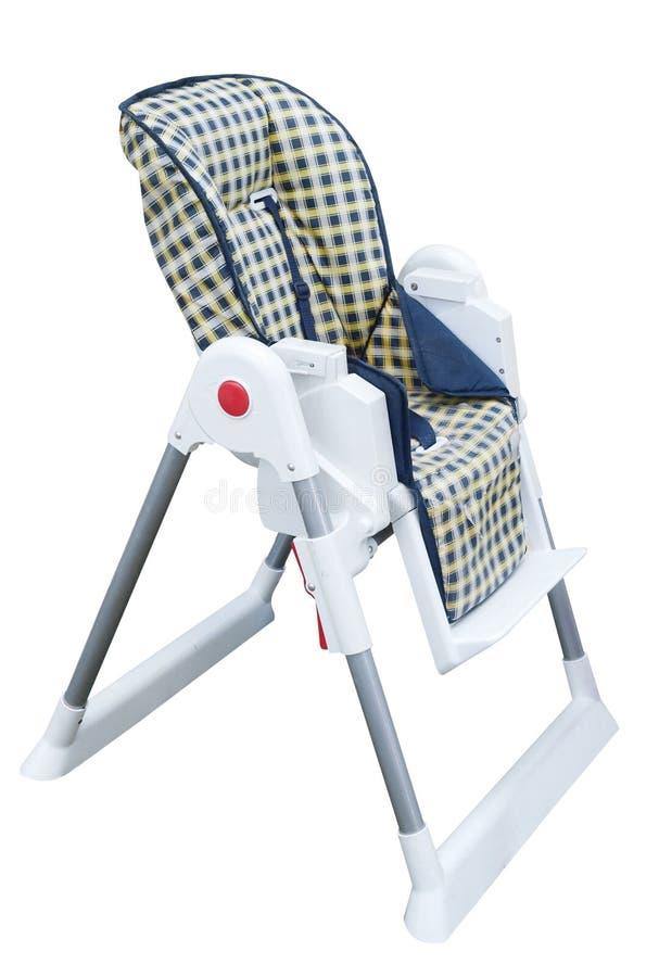 婴孩高脚椅子s 库存图片