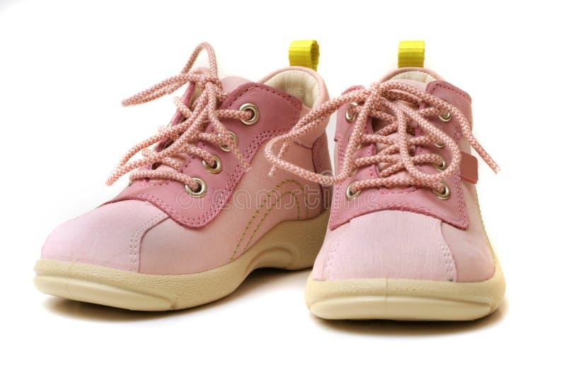 婴孩ii鞋子 库存图片