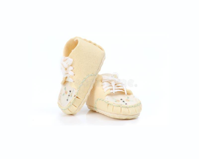 婴孩iii鞋子 免版税图库摄影