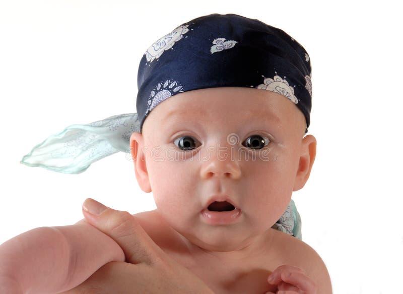 婴孩pirat 库存图片