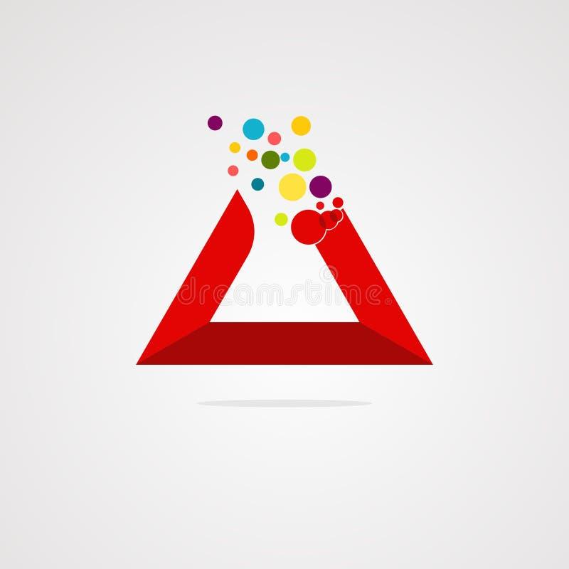 媒介商标传染媒介、象元素和模板 库存例证
